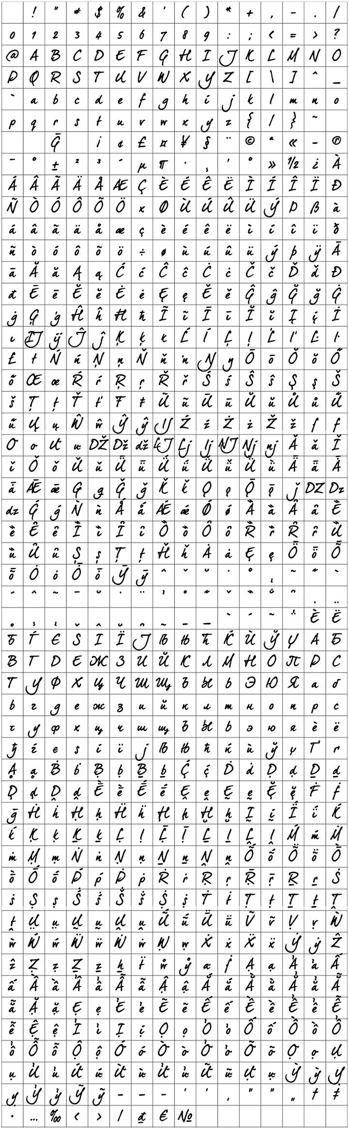 Glyphset_DEARJOE5_CPROBOLD